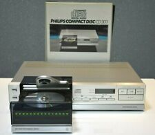 PHILIPS CD-303 Vintage Compact Disc-Player    Top Zustand
