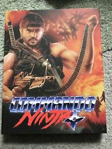 Commando Ninja Blu Ray W Slip ETR Media