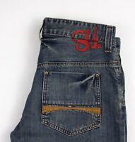 Tommy Hilfiger Hommes Jeans Jambe Droite Taille W34 L32 AKZ404