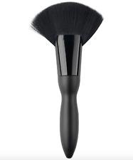 Large Size Makeup Fan Brush Soft Black Face Blush Brush Foundation Brush