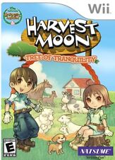 HARVEST MOON: TREE TRANQUILITY Nintendo Wii*NEW/SEALED*