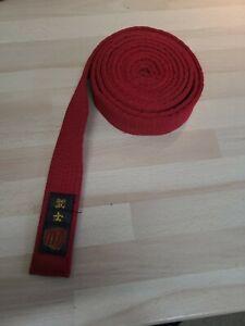 Karate/Judo/Taekwondo red Coloured Belt