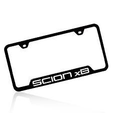 Scion xB Black Steel License Plate Frame