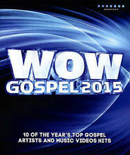 WOW GOSPEL 2015 (10 of 2015's Top Gospel Artists & Videos) DVD [W9,W31]
