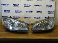 MERCEDES S CLASS W221 XENON HEADLIGHT PAIR WITH BALLAST FRONT LEFT & RIGHT 06-09
