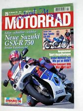 MOTORRAD 25-95+SUZUKI GSX-R 750+YAMAHA SZR 660+HONDA CBR 900 RR+BMW ENDUROS