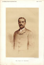 Lithograph White Portrait Art Prints