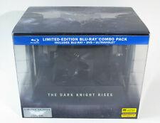 The Dark Knight Rises Limited Edition (Blu-ray/DVD Combo, Bat Cowl, 2012) NEW