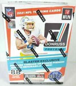 New/Sealed 2021 Panini Donruss NFL Football Blaster Box! 88 Cards! Rated Rookies