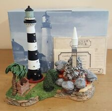 Harbour Lights Lighthouse #163 Cape Canaveral Retired NIB