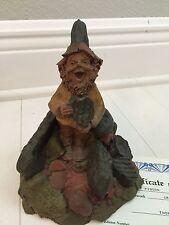 Tom Clark Gnome Cris.P #1112 Cairn Studios Mint Coa