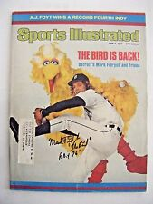 MARK FIDRYCH signed 76 ROY TIGERS 1977 Sports Illustrated baseball magazine AUTO