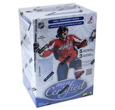 2012-13 Panini Certified NHL hockey Blaster Box with 15 cards
