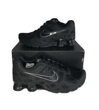 Nike Shox Turbo 454166 001 Black/Grey Mens Size Men's 9 US Shoes Sneakers Rare