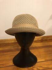 Women's Panama Hat Summer Fashion Brown Size L/XL