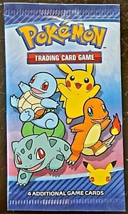 NEW 2021 Pokemon Promo Cards 25th Anniversary McDonalds Happy Meal Combined Ship