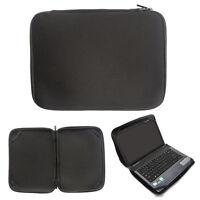 "Neoprene 17"" 17.3"" 17.4"" Laptop Sleeve Bag Notebook Computer Soft Case Cover Blk"