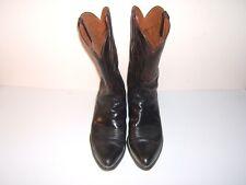 Lucchese Boots, Hand Made, Men's size 11.50 D, Kangaroo Vamp, Goat Shaft c black