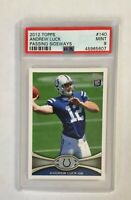 2012 Topps Andrew Luck RC PSA 9, card #140 Colts