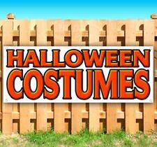 Halloween Costumes Advertising Vinyl Banner Flag Sign Many Sizes Usa