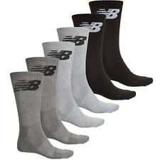 6d224fd6f60a6 NWT New Balance Mens 5 or 6 pairs fitness basics crew socks Large ( 9-
