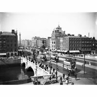Lawrence Sackville O'Connell Street Dublin 1900 Large Wall Art Print 18X24 In