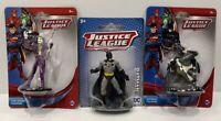 DC Comics Justice League, The Joker & Batman x 2 Action Figures. FREE SHIPPING