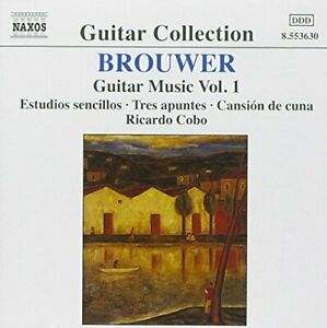 Leo Brouwer: Guitar Music, Vol. 1 -  CD EJVG The Fast Free Shipping