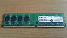 Crucial CT25664AA800 (2 GB, PC2-6400 (DDR2-800), DDR2 RAM, 800 MHz, DIMM...