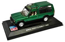 Voiture modèle réduit collection 1/43ème Talbot Matra Rancho 1977
