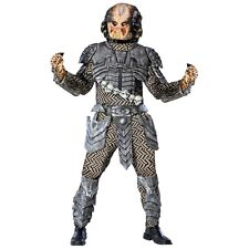 Predator Costume Adult Halloween Fancy Dress
