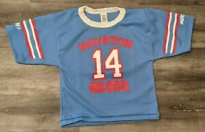 Houston Oilers Jersey Hutch Kids Child small Vintage Vtg Authentic #14 Texas