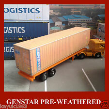 OO Scale Model Shipping Containers Mixed Card Kits Rail Freight 40ft x 5