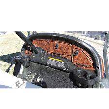 Club Car Precedent Golf Cart Dash Cover 2004'-2008.5' WOODGRAIN BURL