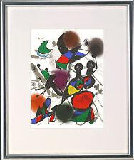 Joan Miro (1893-1983), Original Graphik, O.T. (Motiv: Libelle), 1977