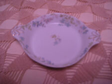 VINTAGE LIMOGES DISH CHEFIELD, HAVILAND-BLUE & GREEN FLOWERS