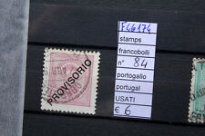 FRANCOBOLLI PORTUGALLO USATI STAMPS PORTUGAL USED N°84 (F46174)