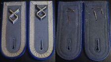 (No1337) German Bundeswehr shoulder boards pair MEDIC CORPS MASTER SERGEANT