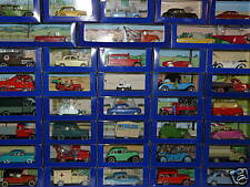 "COMPLETE COLLECTION (70) TINTIN CARS ATLAS  ""VERY RARE"""