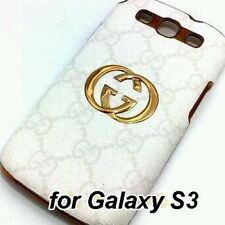 Desiner High quality GC Hard Leather Samsung Galaxy S3 back case cover