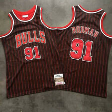 Dennis Rodman Authentic Swingman Jersey Retro Hardwood nba Classics Chicago Bull