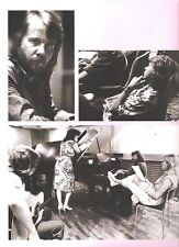 ABBA 'deep in thought' magazine PHOTO/Poster/clipping 11x8 inches