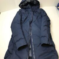 Womens Lululemon Fluff The Cold Duck Down Parka Jacket Long Size 4 2017