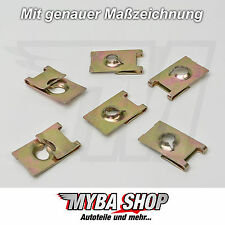 10x universal metal soporte paréntesis borna madre 25 x 14,5 uni #neu #
