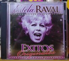 ESTELA RAVAL EXITOS ORIGINALES COMPACT DISC SONY 2014