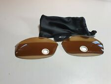 Oakley Sunglasses Flak Jacket Gen 1 Gold Iridium Polarised Regular shape
