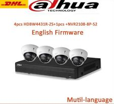 Dahua CCTV KIT 8CH NVR 2108HS-8P-S2+ IPC-HDBW4431R-ZS 4MP IP POE Camera