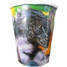 Godzilla Vintage 9oz Paper Cups (8) ~ Birthday Party Supplies Beverage Drinking