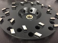 "7"" Spike Seg Diamond cup wheel fast aggressive grinding concrete masonry stone"
