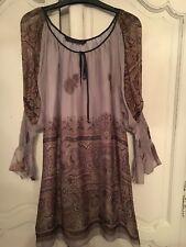 Zara Autumn Colour Tunic/ Dress Size M